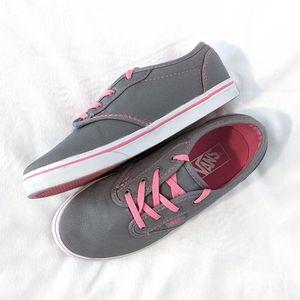 Pink & Grey Vans + BONUS